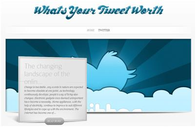 What´s your tweet worth