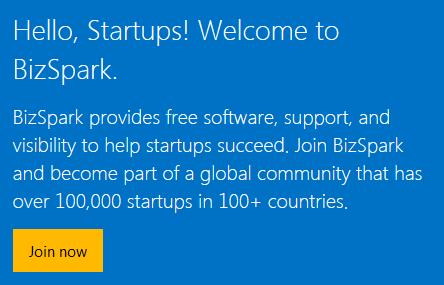 Startup BizSpark