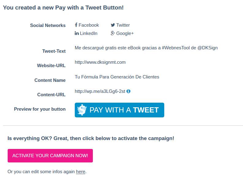 Shout A Tweet - Campaña 3