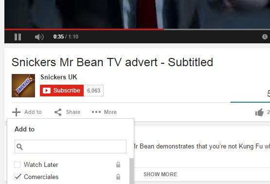 agregar videos youtube