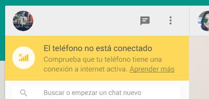 Whatsapp web deconecado