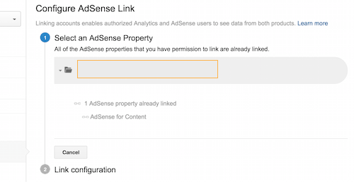 Integrando google adsense con google analytics 3