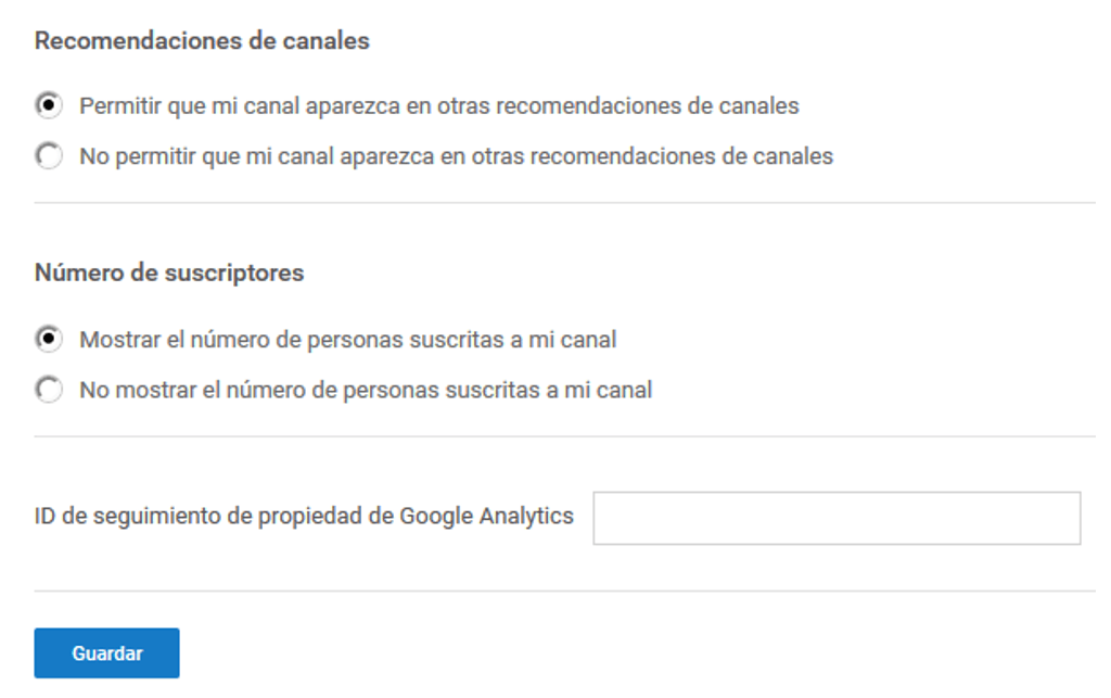 Cómo crear un canal de videos en YouTube 11