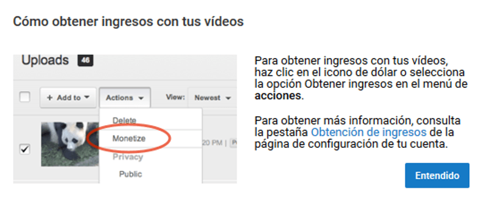 Cómo crear un canal de videos en YouTube 16