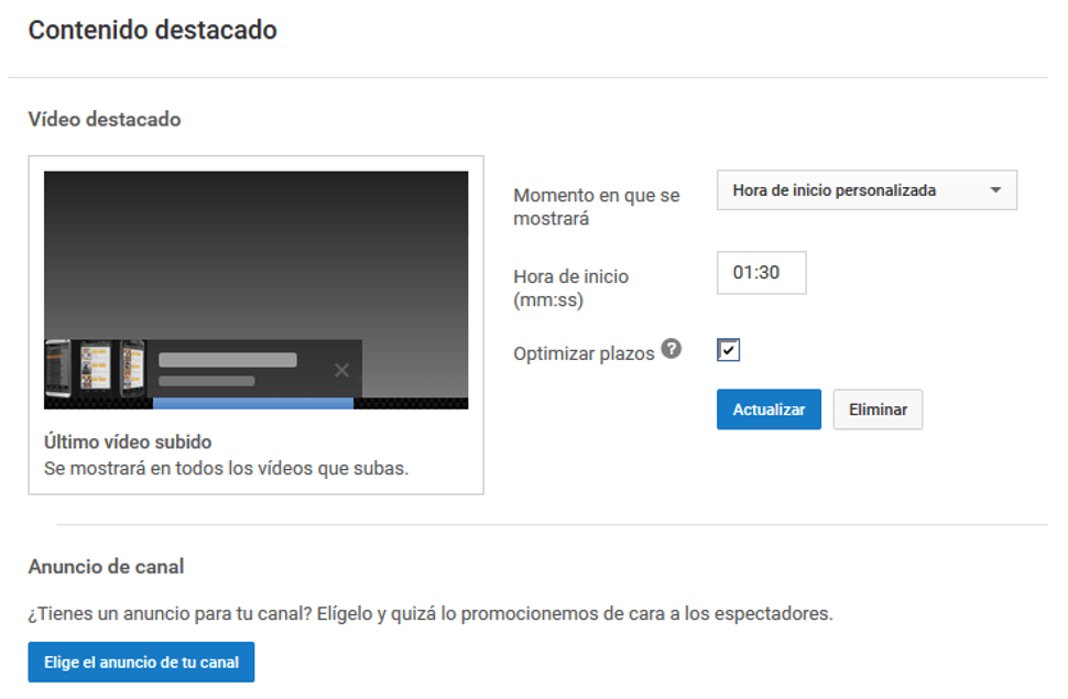Cómo crear un canal de videos en YouTube 19