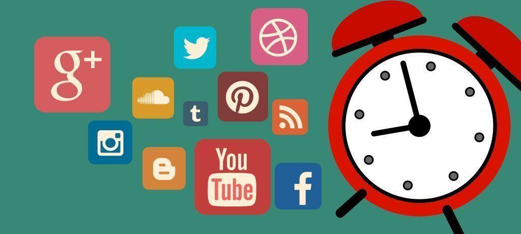 tiempo en redes sociales