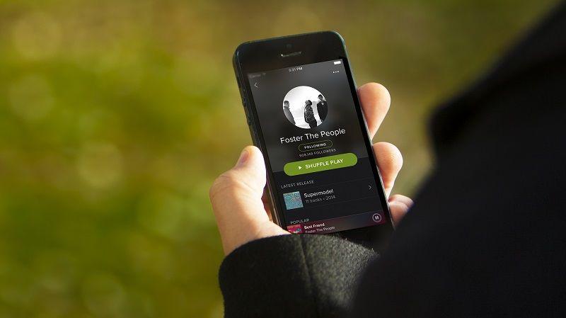 Spotify Aplicación de Música