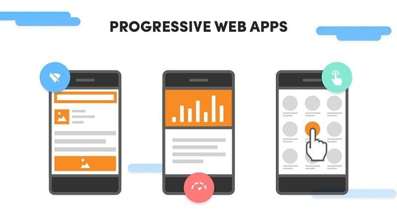 ¡La tendencia de que los usuarios web utilicen dispositivos móviles no decae! Por el contrario, sigue aumentando. De hecho, cada vez son más las personas que únicamente utilizan dispositivos móviles para acceder a la web, especialmente en España, donde lo hace un 32% de los usuarios, muy por delante de británicos (8%), franceses (6%) o alemanes (4%). Desde el punto de vista del desarrollo web, esto presenta todo un reto para agencias, diseñadores y programadores, que deben adaptar sus desarrollos a estos dispositivos, caracterizados por tener una pantalla de pequeño tamaño y, generalmente, con una capacidad de procesamiento más limitada. Precisamente, para ayudar a que las webs sean más mobile-friendly, Google introdujo en 2015 las aplicaciones webs progresivas (PWA, por sus siglas en inglés). ¡Sigue leyendo y descubrirás qué son y por qué deberían interesarte a ti y a tu agencia! ¿Qué son las aplicaciones web progresivas? Una aplicación web progresiva es una mezcla entre una web optimizada para dispositivo móvil y una aplicación móvil. En otras palabras, son webs modificadas para que funcionen de manera similar a una aplicación de escritorio o móvil. Generalmente, las PWAs se basan en estándares web abiertos y combinan el uso de lenguaje HTML, CSS y JavaScript (como es habitual en las aplicaciones web convencionales) con la tecnología service worker (lo que les permite poder ejecutarse cuando no hay conexión). Algunos ejemplos de PWA son las notificaciones, el funcionamiento sin conexión a Internet o la posibilidad de probar una versión antes de descargar una app nativa. ¿Qué ventajas tienen? Frente a otras opciones, las aplicaciones web progresivas tienen varias ventajas, que las hacen muy atractivas para usuarios de dispositivos móviles: tiempos de carga más rápidos, interfaz de usuario mejorada y gran comodidad y acceso. Además, a diferencia de otras apps (que generalmente requieren que se haga una gran inversión de fondos y contratar a desarrolladores) las apli
